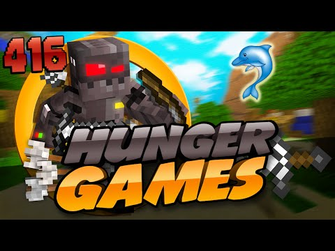 Minecraft Hunger Games: Episode 416 My Child Dolphin