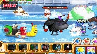 Larva Heroes Ấu trùng tinh nghịch con sâu siêu quậy | cu lỳ chơi game #18 | gameplay funny
