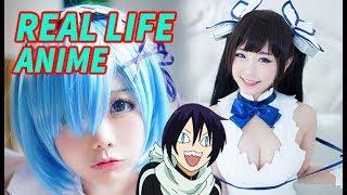 Real Life Anime Girl (dancing)!!!