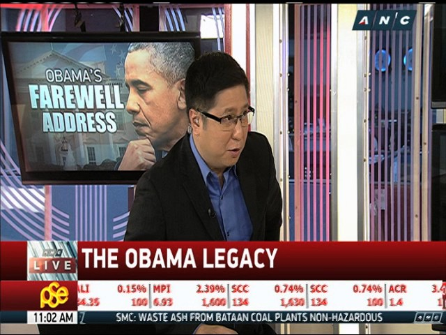 Optimism evident in Obama's farewell speech: analyst