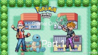 BDG Plays Pokémon Fire Red (starter only)Part 1: Aqua Blue