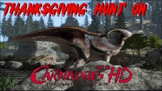 Thanksgiving Hunt on Carnivores Dinosaur Hunter HD (Live Commentary)