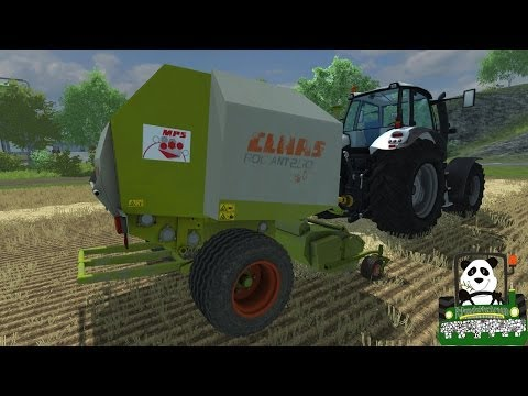 Farming Simulator 2013 Mod Review Claas Rollant 250