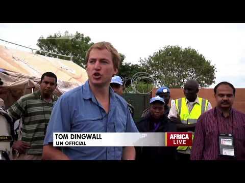 UNMISS Relocates Civilians in Tomping Camp