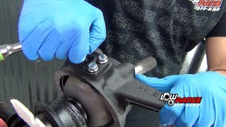 How to Rebuild a Samurai Solid Front Axle (Part 5) Installing Differential, Axle & Knuckle