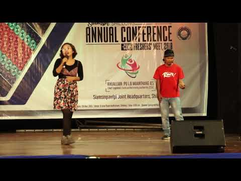 Rock Diing -  Siamsin Shillong Conference cum Freshers 2018