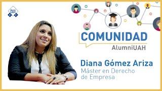 Comunidad AlumniUAH · Diana Gómez