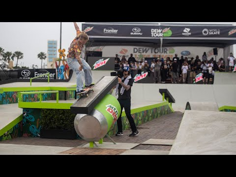 Women's Street Winning Runs 2019 Dew Tour Long Beach