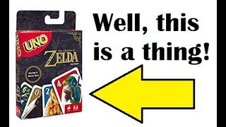 The Legend of Zelda: UNO? | Unboxing