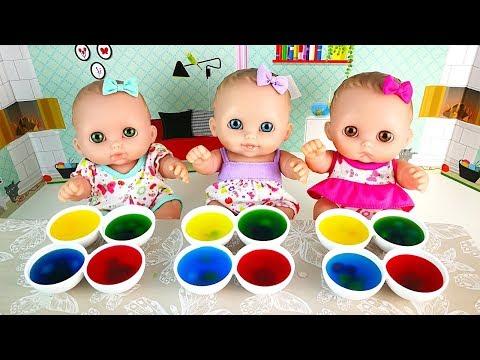 Куклы Пупсики Цветной Лёд с Шариками Орбиз Изучаем Цвета Мультик Для детей Игрушки 108мамаТВ