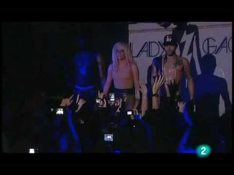 Lady Gaga Just Dance Madrid @ Ocho y Medio