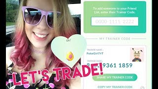 ADDING FRIENDS AND TRADING GIFTS IN POKÉMON GO! Live Stream!