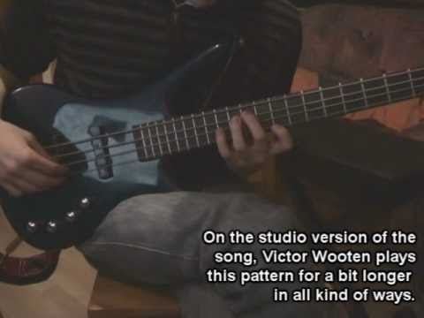 Tutorial: Victor Wooten - The Lesson video