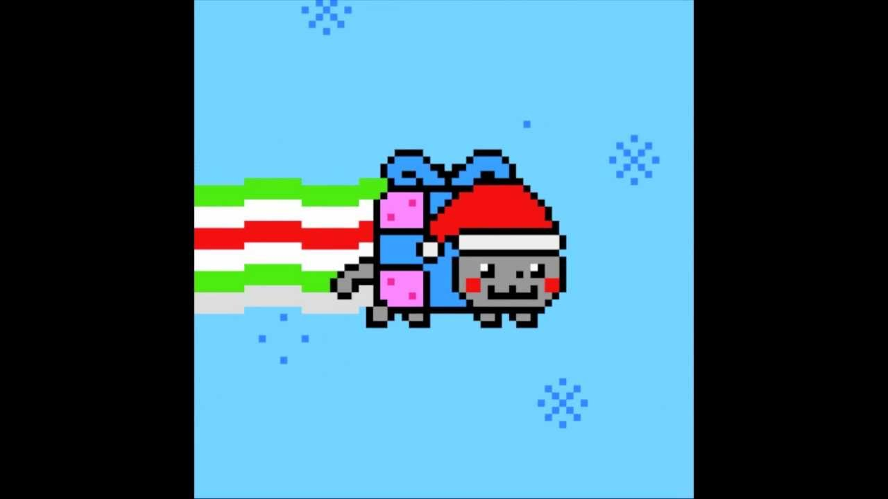 Original Nyan Cat Gif Christmas Nyan Cat Original