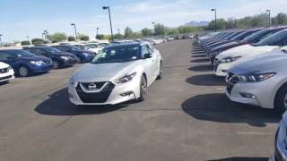 2017 Nissan  maxima Compare SL VS SR MODELS