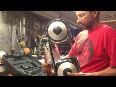 Harbor Freight portable bandsaw review and stand build part 1