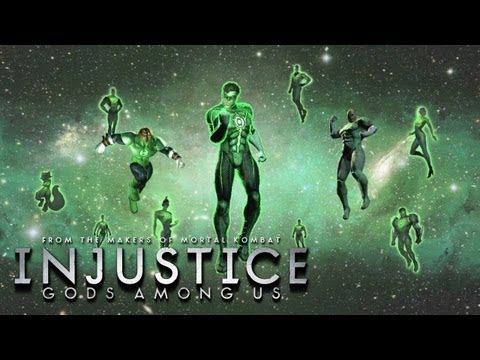 Injustice: Gods Among Us - 'Green Lantern vs Solomon Grundy' TRUE-HD QUALITY