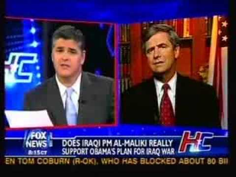 Rep. Sestak Refuses To Be Bullied By Hannity