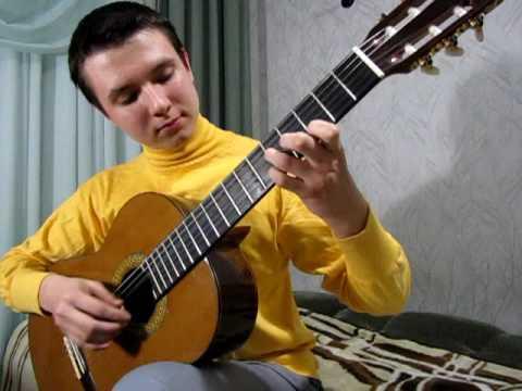 Chumadin Dima plays Etude by Dionisio Aguado