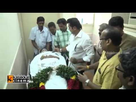 Celebs pay Last Respect to Kadhal Dhandapani