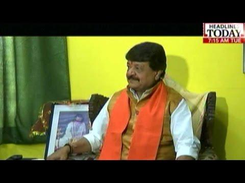 BJP Minister Kailash Vijayvargiya Hits Out At Rahul Gandhi