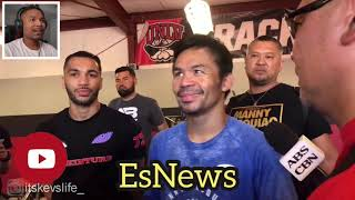 Manny Pacquiao Reaction To Amir Khan announcement Fight