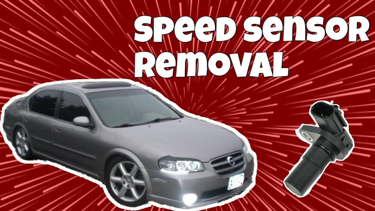 01 Maxima Vehicle Speed Sensor Removal Nissan Youtube