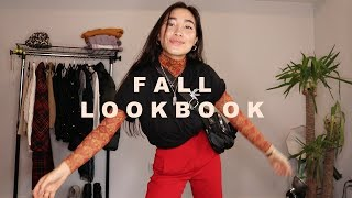 Fall Lookbook 2018 | unique outfit ideas