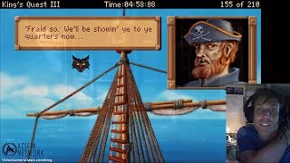 King's Quest III: To Heir Is Human - Invisibility Spell and Pirate Ship - The Director's Cut