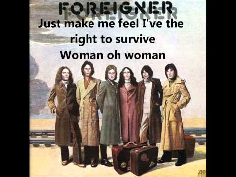 Foreigner - Woman oh Woman