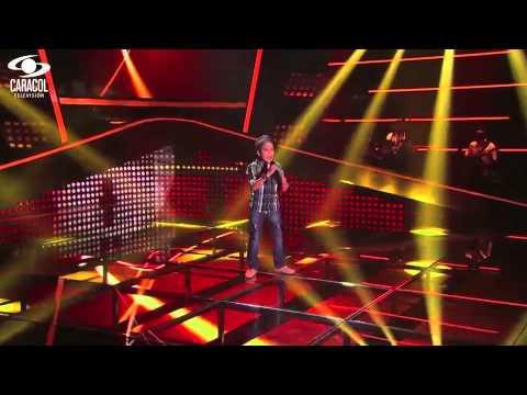 Santiago cantó 'Vuélveme a querer' de Cristian Castro LVK Colombia Audiciones a ciegas T1