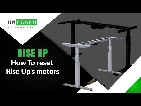 Rise Up Electric Standing Office Desk Motor Reset Procedure