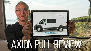 Full Review | 2019 Carado Axion | A Short, Affordable Lithium-Powered Class B Camper Van