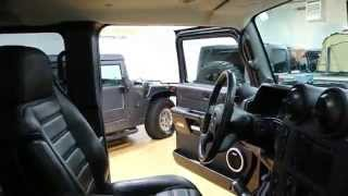 Review of 2007 Hummer H2 SUT Luxury Black Ops~Custom Rims~Black/Black~Navi~Pwr Boards~Dual DVDs