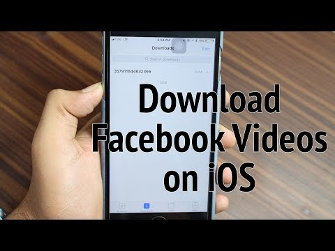 Download Facebook Video on Your iPhone and iPad (How to?)