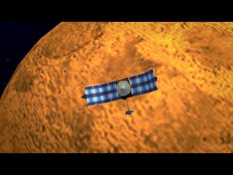 Life on Mars? NASA's MAVEN enters Martian orbit to find out