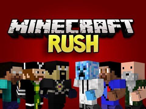 Minecraft: RUSH! w/ AntVenom, CavemanFilms, NoahCraft, Vikkstar, & Joey