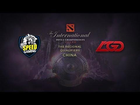 SpG -vs- LGD.CDEC, TI4 China Qualifier, Round 2