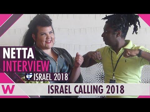 Netta (Israel 2018) Interview | Israel Calling 2018