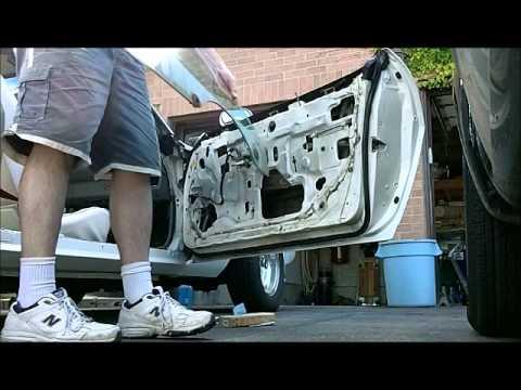 Mustang Door Glass Removal