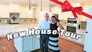 Kenton & Habiba  MOVED ! #HOUSETOUR  Welcome to our New Home  in the Country ?!  #NorthCarolina