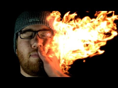 Struck by Fire: Firebending @ 2500 FPS (Feat. Grant Thompson & HouseholdHacker)