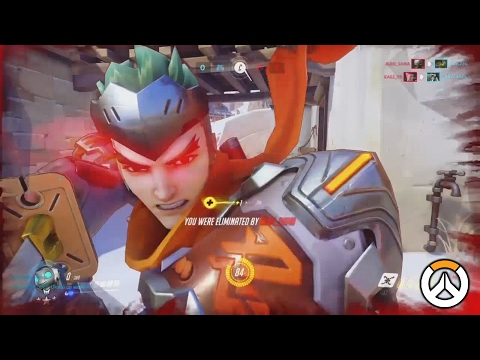 OVERWATCH ► FUNNIES, FAILS & CRAZY MOMENTS #32