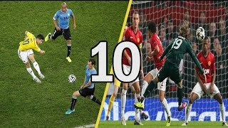 JAMES RODRIGUEZ VS LUKA MODRIC ● TOP 10 GOLES