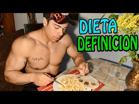 DIETA PARA DEFINICION | JOSE LUIS MONTES | MUNDIAL IFBB | BODYBUILDER COOKING