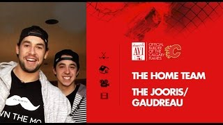 Homes by Avi & the Calgary Flames:  Jooris and Gaudreau take us on a tour of their home