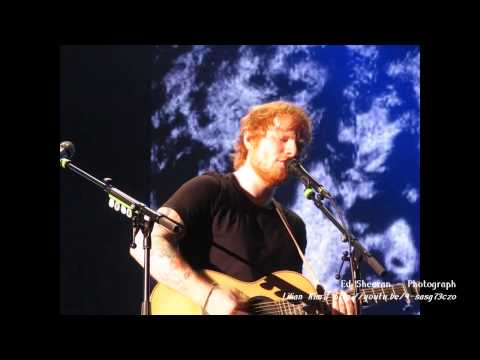 Ed Sheeran Live at SK Olympic Handball Arena, Seoul, South Korea 2015.03.08 [Fancam Mix]