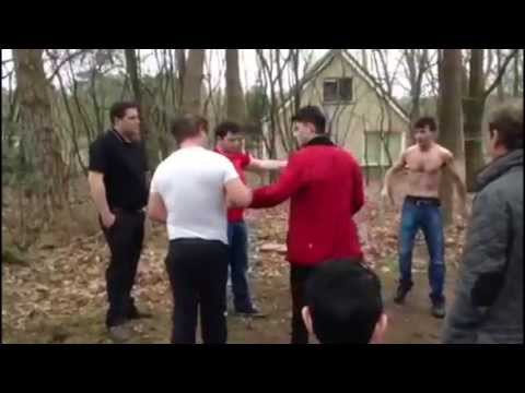Irish Gypsy Bare Knuckle Boxing in the Woods Image 1