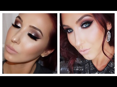 Classic Silver Neutral Smokey Eye   Jaclyn Hill