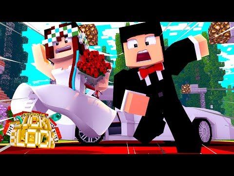 NOSSO CASAMENTO DEU RUIM! - Minecraft: Desafio de Lucky Block